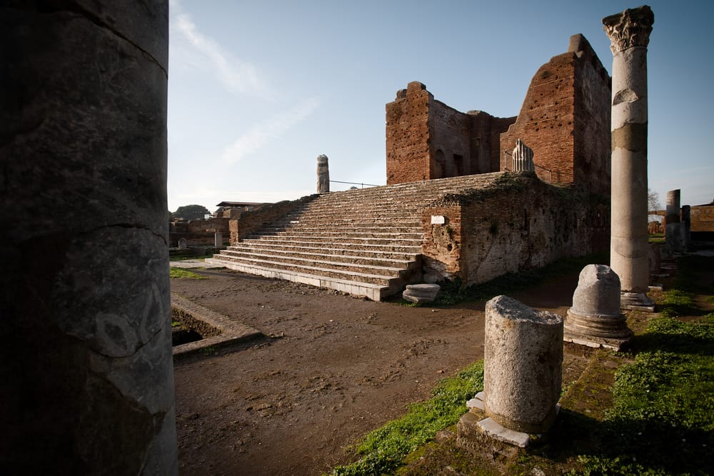 Ostia Antica is a day trip form Rome as good as Pompeii but less crowded