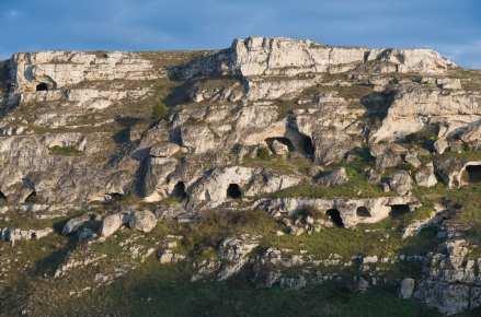 Sassi of Matera, prehistoric sites