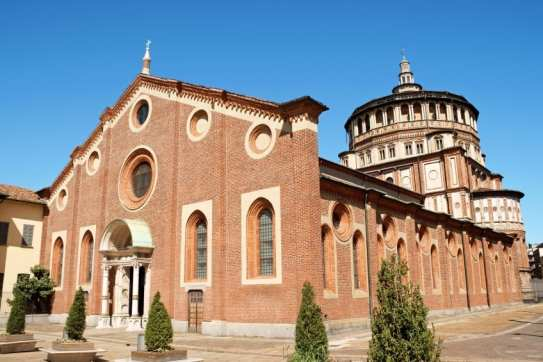 UNESCO World Heritage Sites in Northern Italy - Church and Convent of Santa Maria delle Grazie in Milan