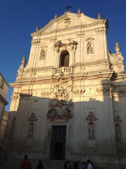 Itria Valley, Puglia - Martina Franca - Basilica di San Martina