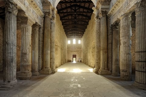 UNESCO World Heritage Sites in Central Italy - Basilica of San Salvatore, Spoleto