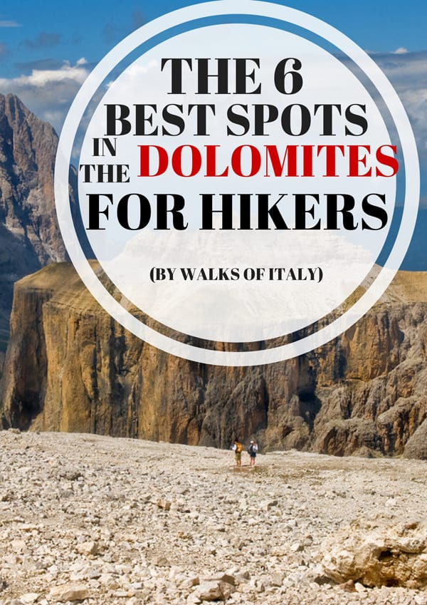 The dolomites are some of the most beautiful mountains in the world. Here's a list of our favorite spots for outdoor lovers.
