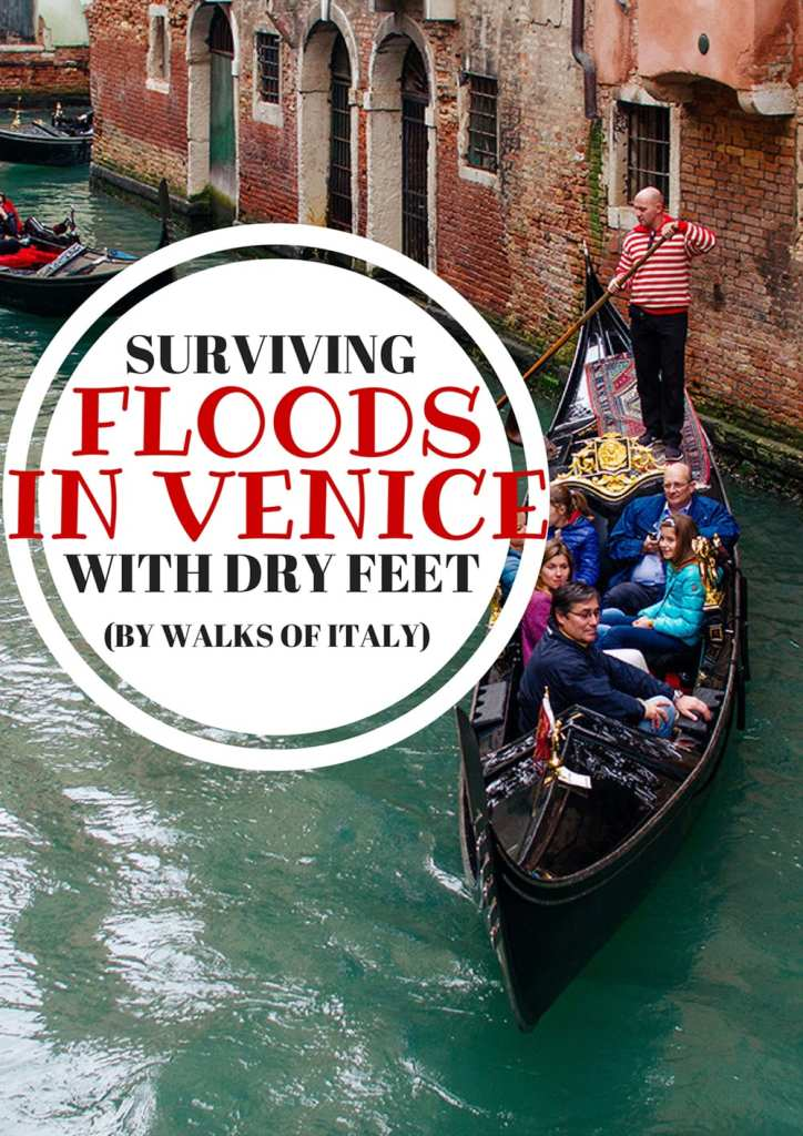 Venice's infamous 'Acqua Alta' floods can put a major dampener on your visit. Find out how to avoid them and make the best if you're stuck in one on the Walks of Italy blog.