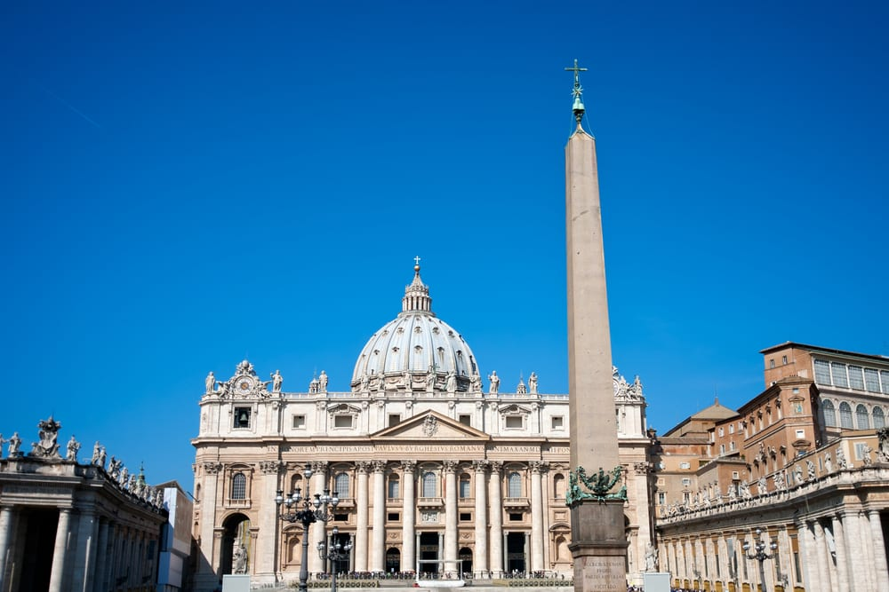 St. peter's basilica square rome vatican