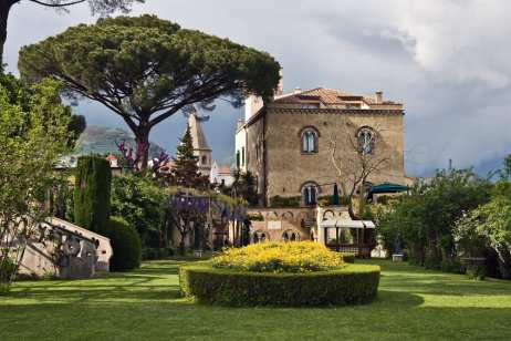 Ravello's Villa Cimbrone, a top sight on the Amalfi coast