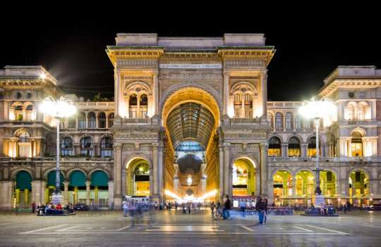 Milan, the capital of the region of Lombardy