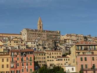 Ventimiglia in Liguria Italy