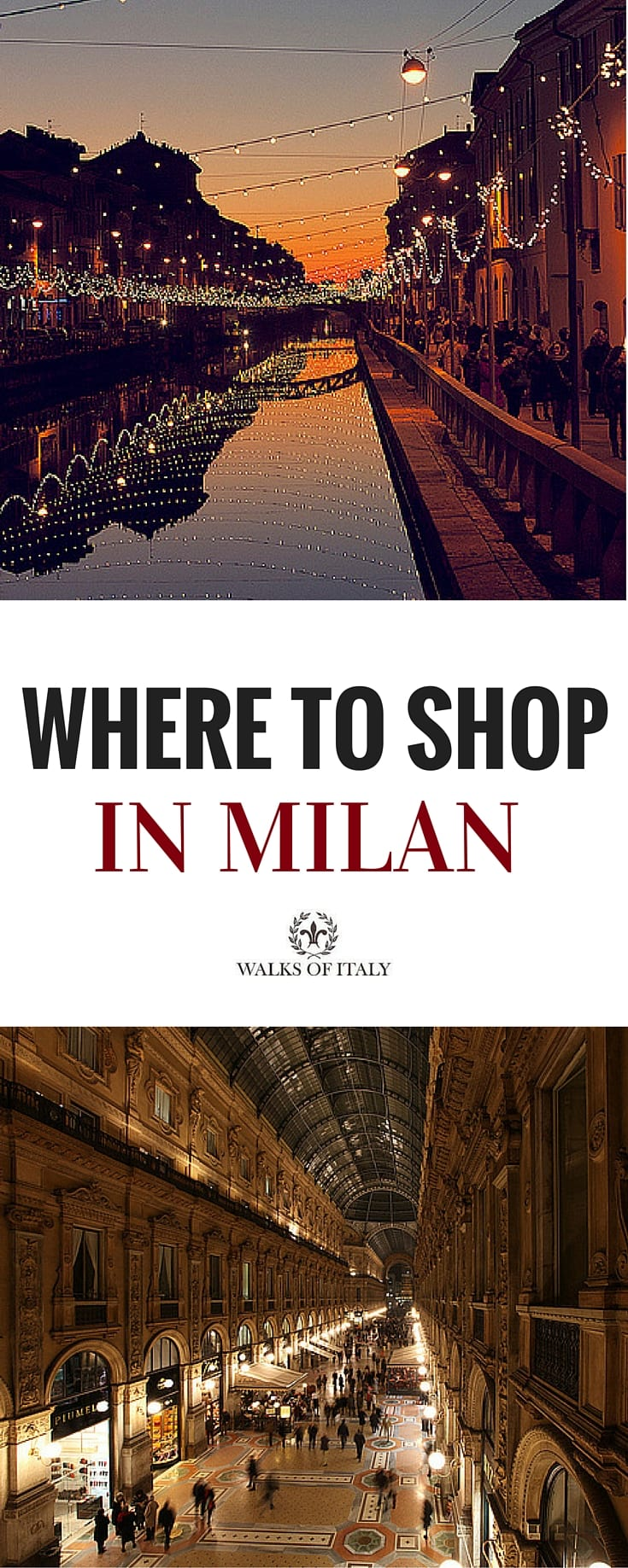 Where to shop in milan for Outlet near milan