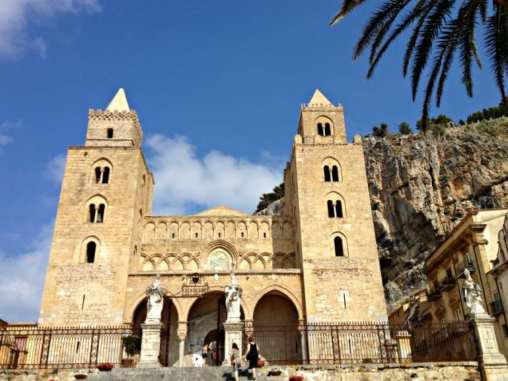 Cefalu, a small town in Sicily
