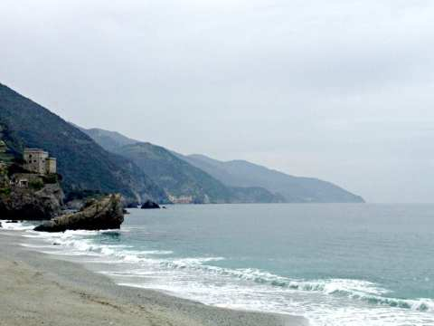 Beach in Liguria