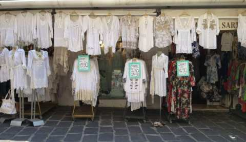 Shopping in Positano, Amalfi coast