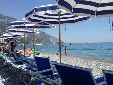 Fornillo Beach: A more tranquil spot