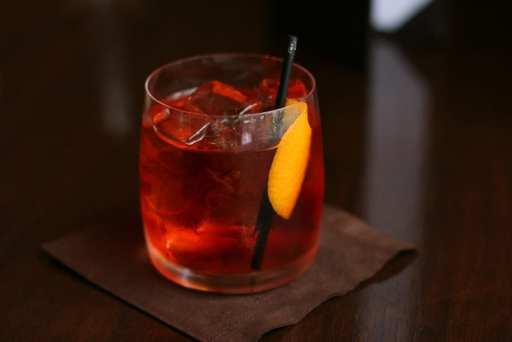Negroni Sbagliato, a popular summer cocktail