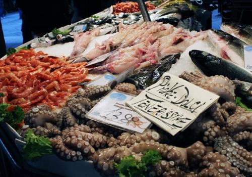 Venice food tour Rialto market
