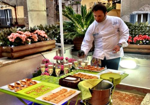 Italy cooking class