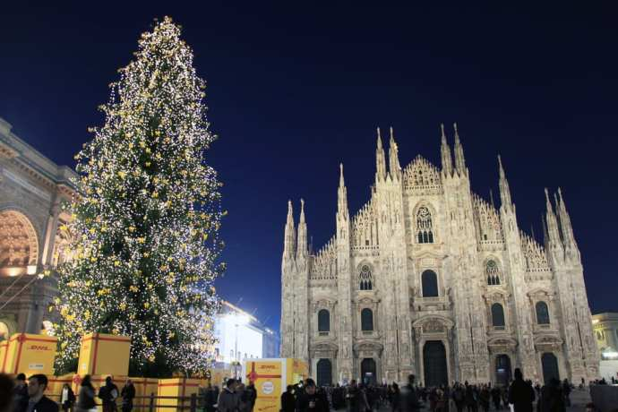 Christmas In Milan And New Year S Too What You Have To