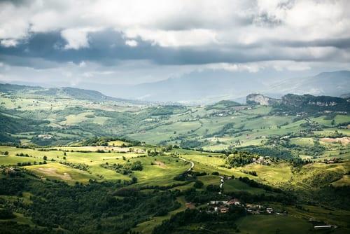 San Marino panorama