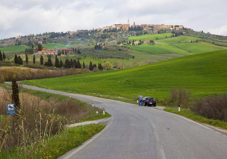 Pienza town, well worth a visit