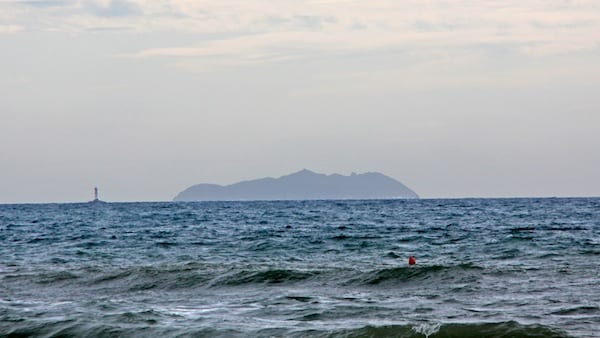 On clear days you can even see the island of Gorgona from the coast. Photo by Guillaume Baviere