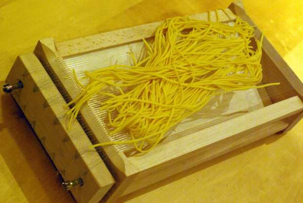 Guitar Spaghetti, a specialty of Molise