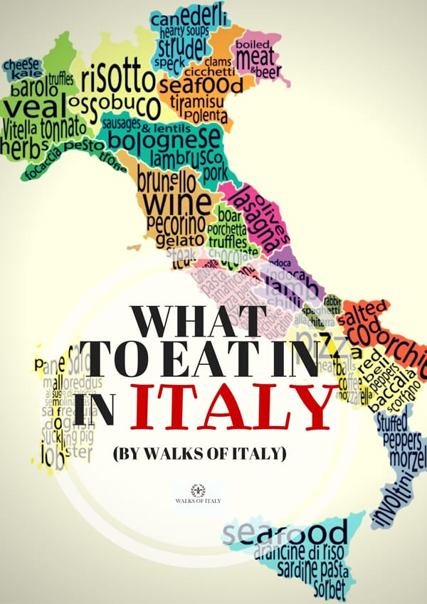 Every region of Italy has its favorite dishes. Here's a comprehensive guide to what to eat in every region.
