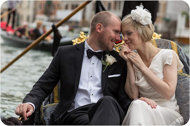 How about a gondola ride in Venice after your big day? Photo by Luca Fazzolari