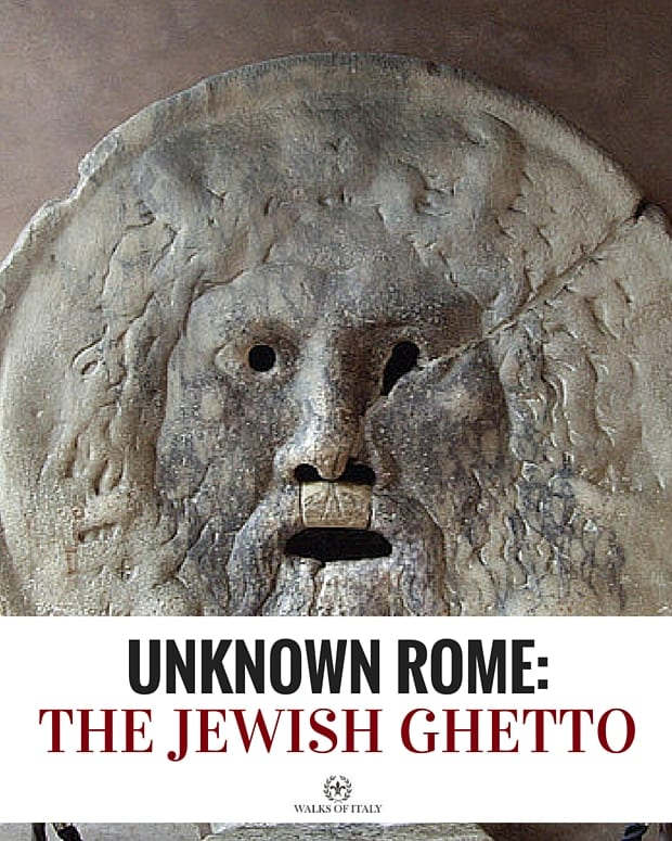 The old jewish ghetto is one of Rome's coolest neighborhoods. Find out its incredible history and why you should come visit it!