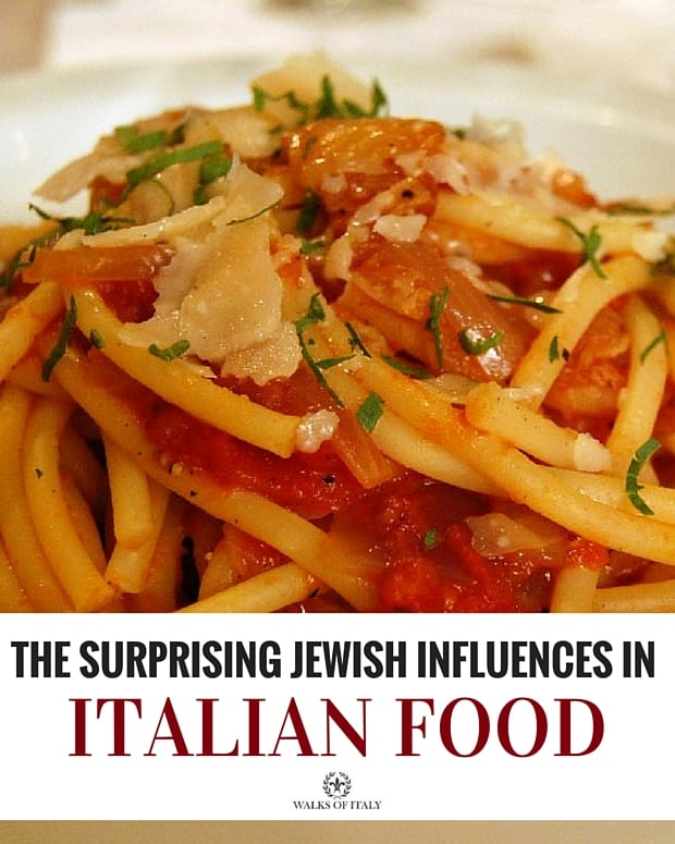 Bucatini al' Amatriciana is just one of the many delicacies that Jews have had a hand in creating. Find out the other dishes that they have created in our blog!