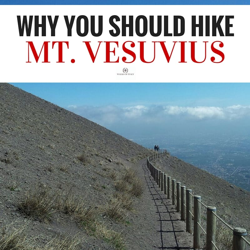 The path around the crater of Mount Vesuvius offers some of the most spectacular views in Italy. Find out why visiting Mount Vesuvius is one of the coolest things to do around Naples in our blog!