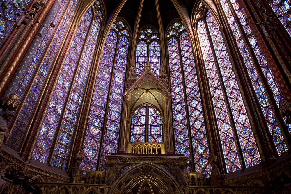The stunning Sainte Chapelle is part of the Walks Conciergerie tour