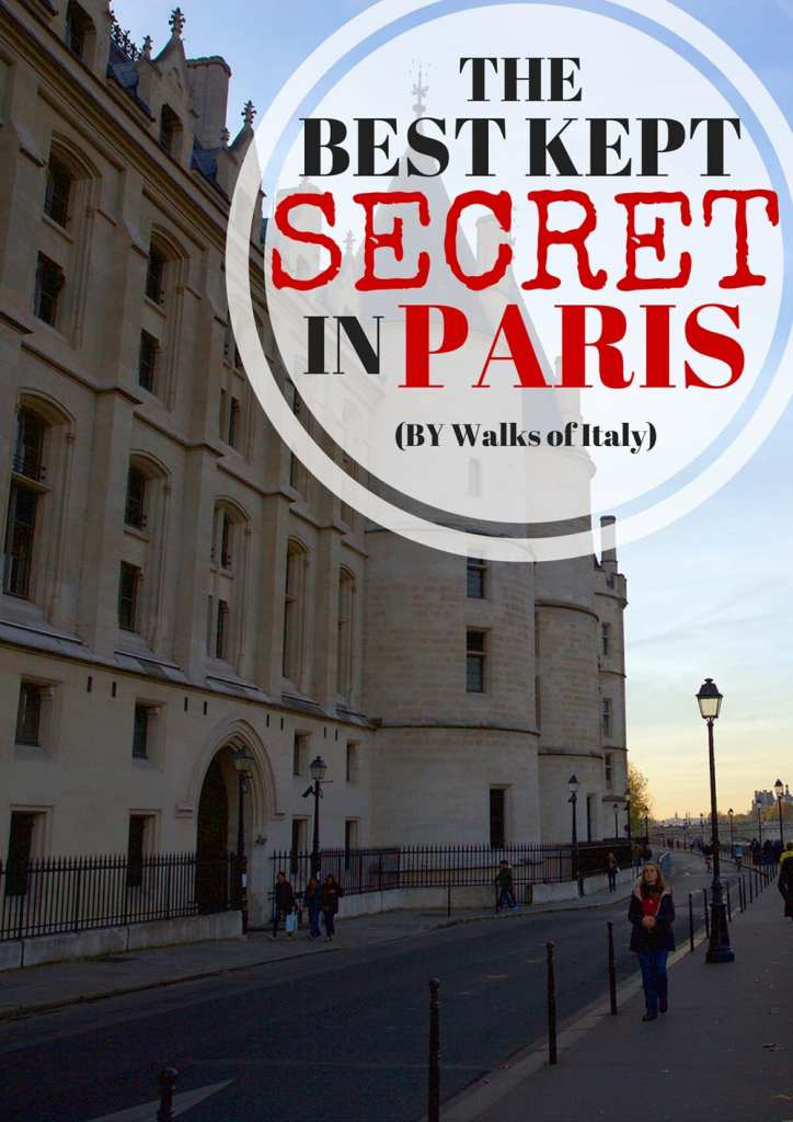 Conciergerie tours are some of the coolest visitor attractions in Paris that no one knows about. Learn why on the Walks blog.
