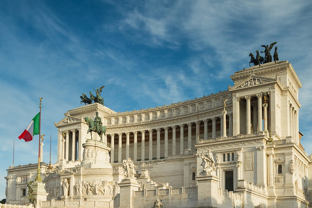 It might be one of the biggest monuments in Rome, but that doesn't mean the locals have to like it.