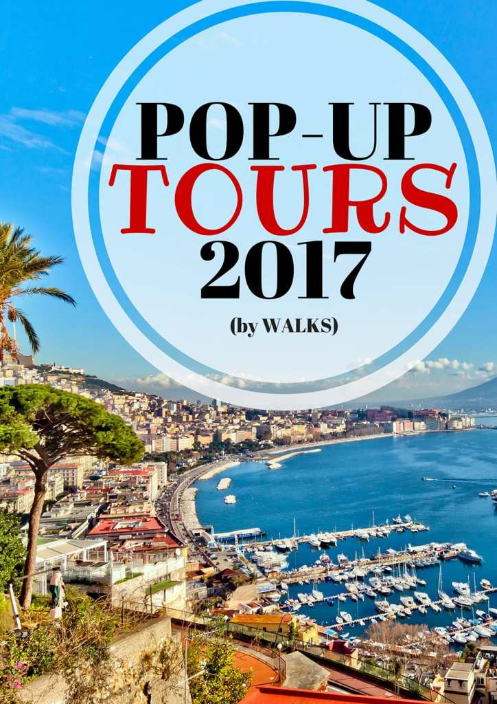 Walks' 2017 Pop Up Tours are here! Book now in Italy, Paris and NYC.