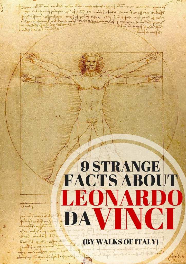 Facts about Leonardo de Vinci