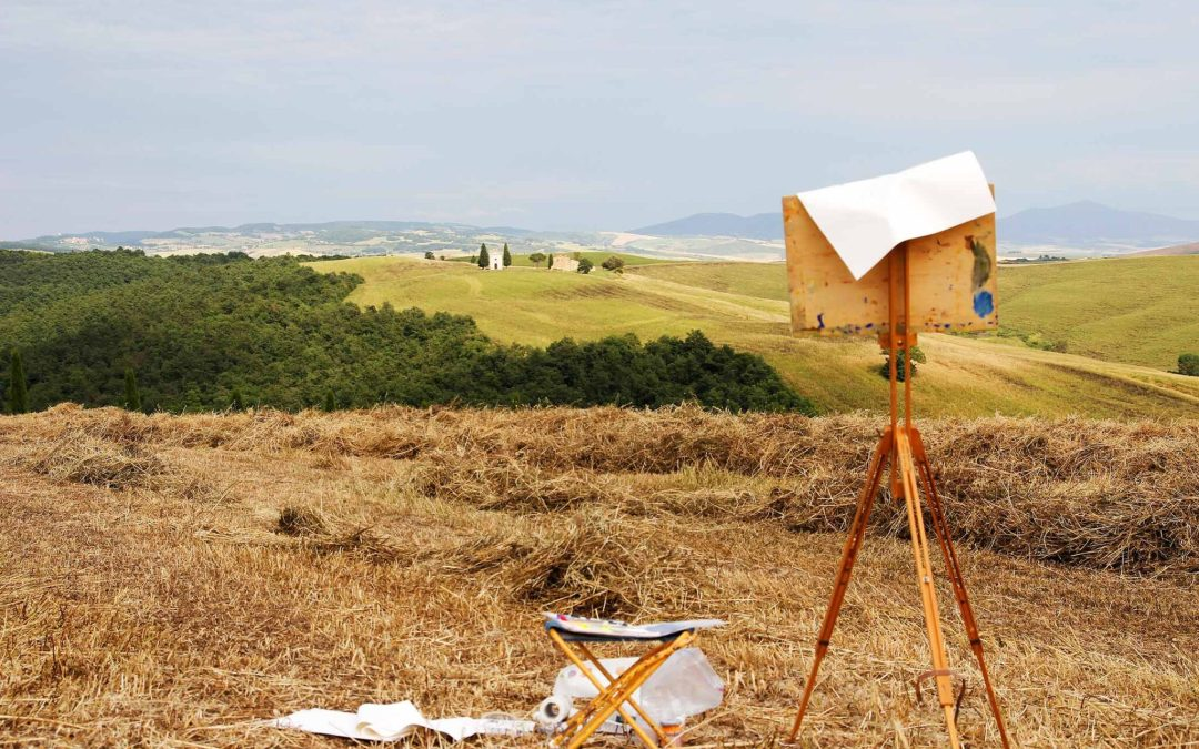 Plein Air Painting = Trapping the Moment