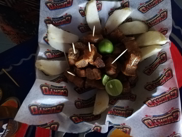 Typical Colombian coastal food tasted during Walk the Arts art workshop culinary tour in South America