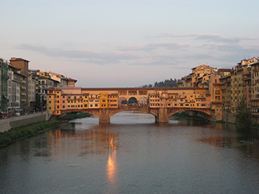 Visiting Florence during our art workshop in Tuscany