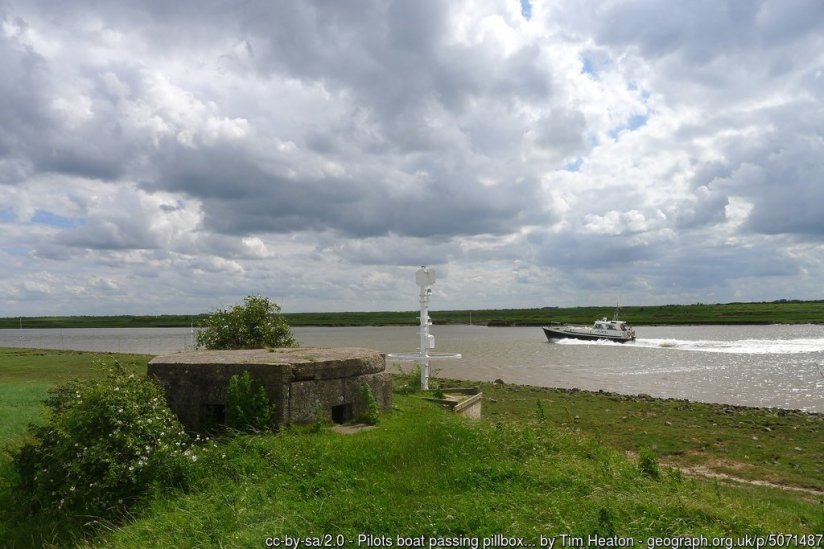 Walk the England Coast Path - Sutton Bridge to Skegness via Boston