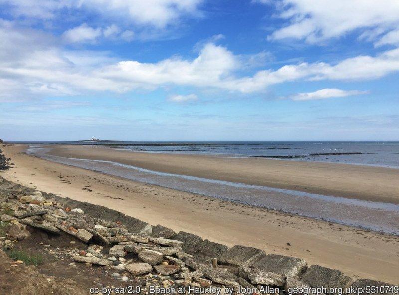 Beach at Hauxley