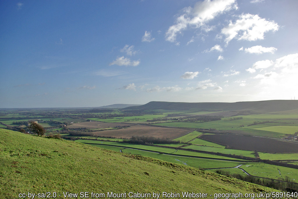 Glynde and Mount Caburn Walk