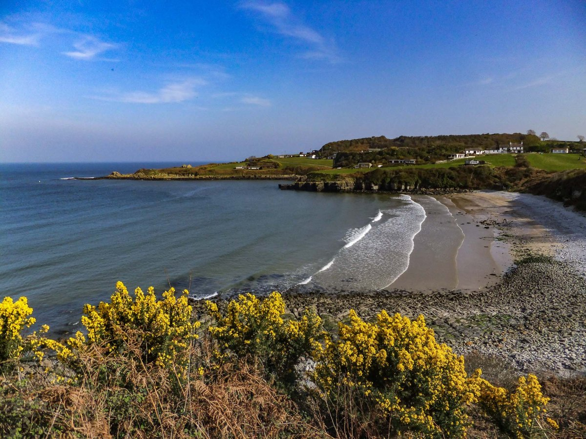 Walk the Wales Coast Path Red Wharf Bay and Benllech to Amlwch Port