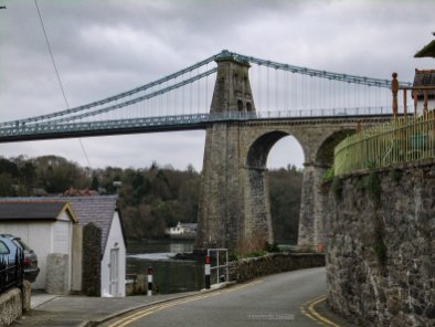 Walk the Wales Coast Path Menai Bridge to Red Wharf Bay