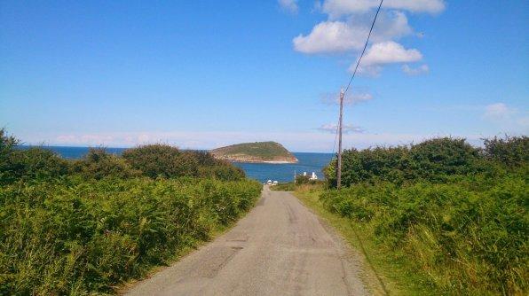 Walk the Wales Coast Path Menai Bridge to Red Wharf Bay