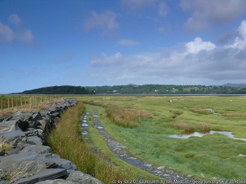 Walk the Wales Coast Path from Porthmadog to Harlech
