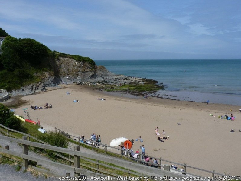 Aberporth - West beach