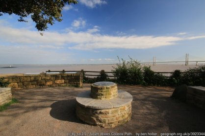South Wales Coastal Path Information point