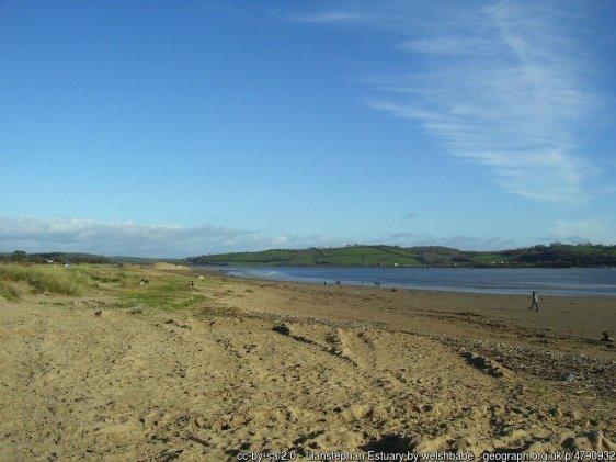 Llansteffan Estuary