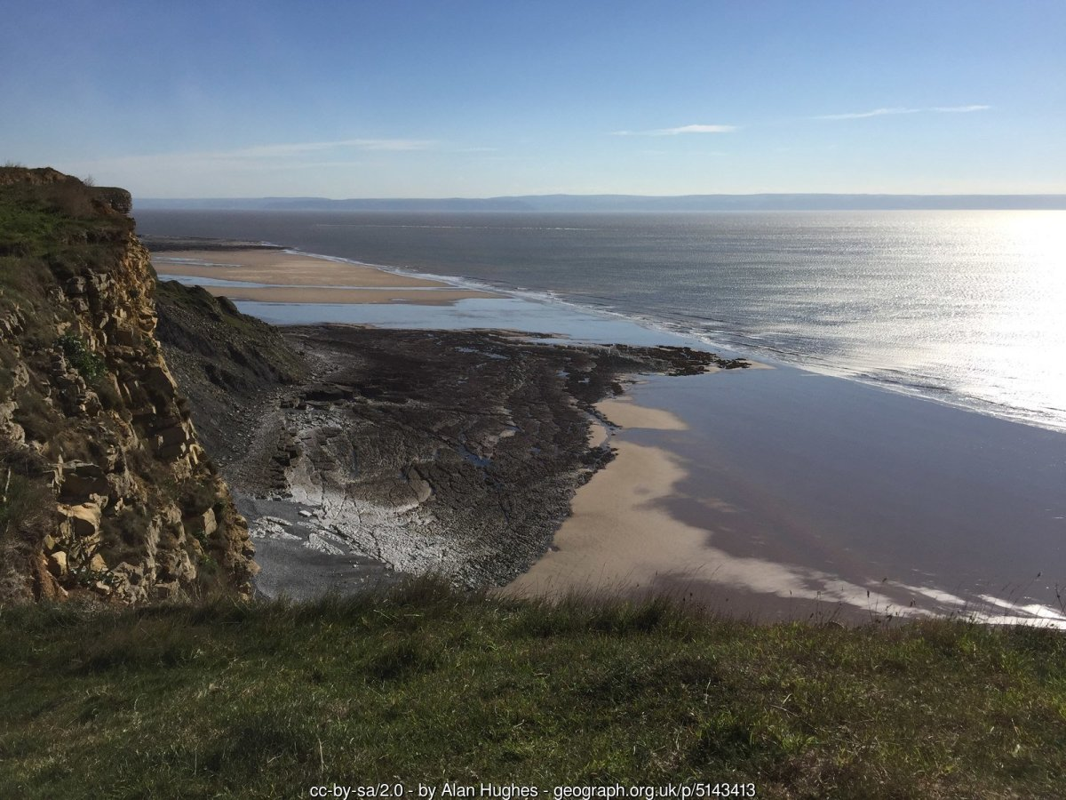 Walk the Wales Coast Path from Ogmore-by-sea to Barry