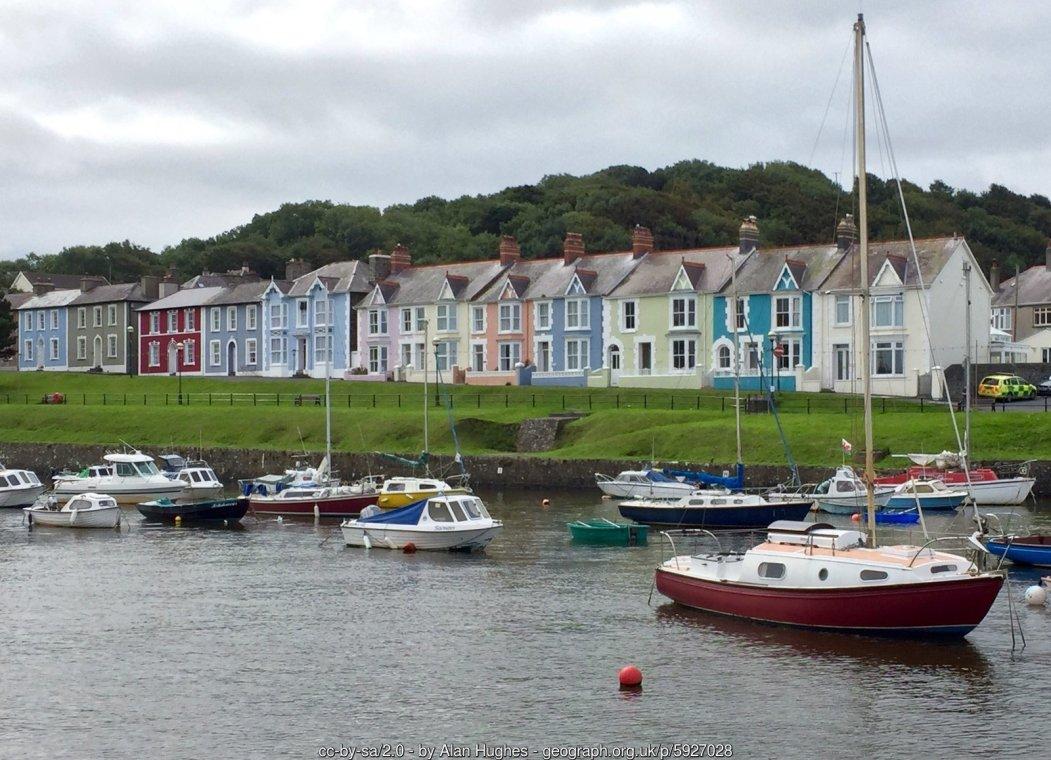 Walk the Wales Coast Path from Aberystwyth to Aberaeron