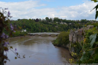 River Wye and Old Wye Bridge, Chepstow